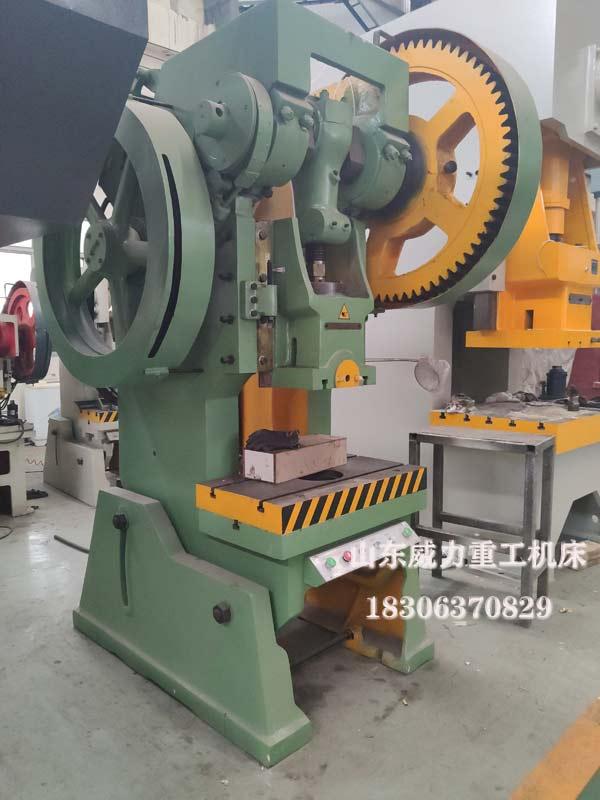 100吨机械冲床图片